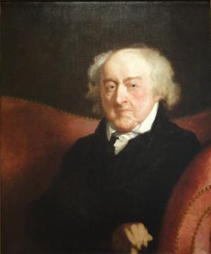 John Adams by Gilbert Stuart, 1826